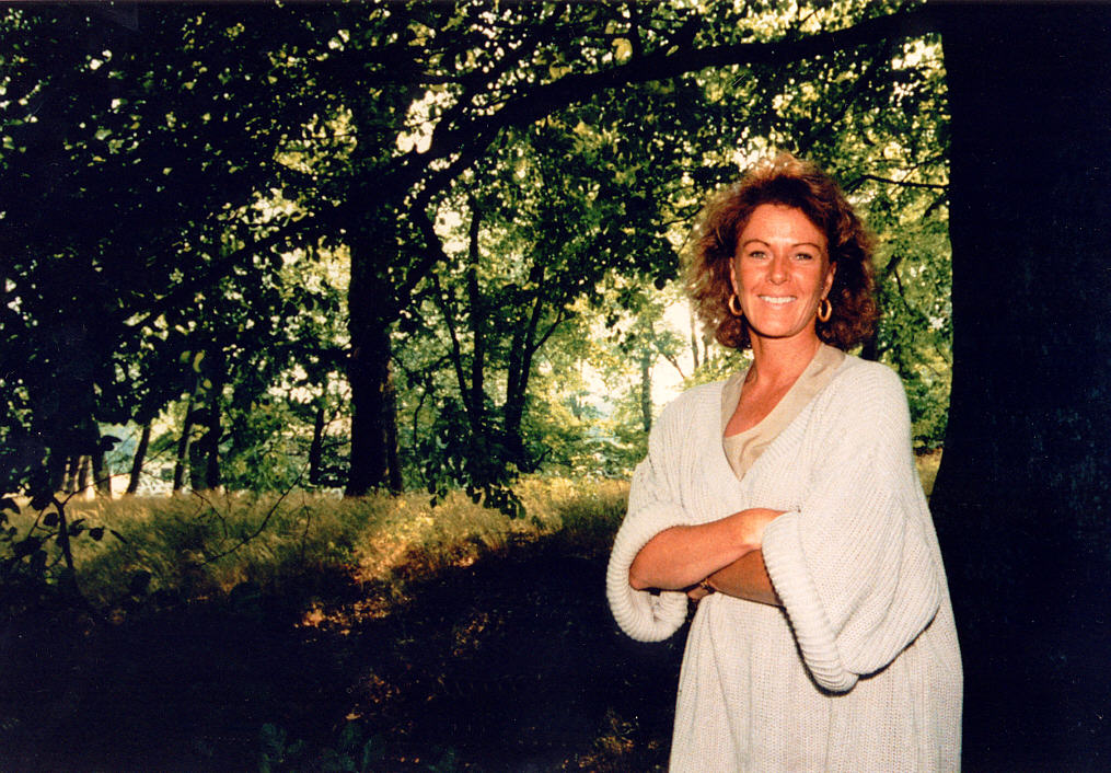 frida in the woods