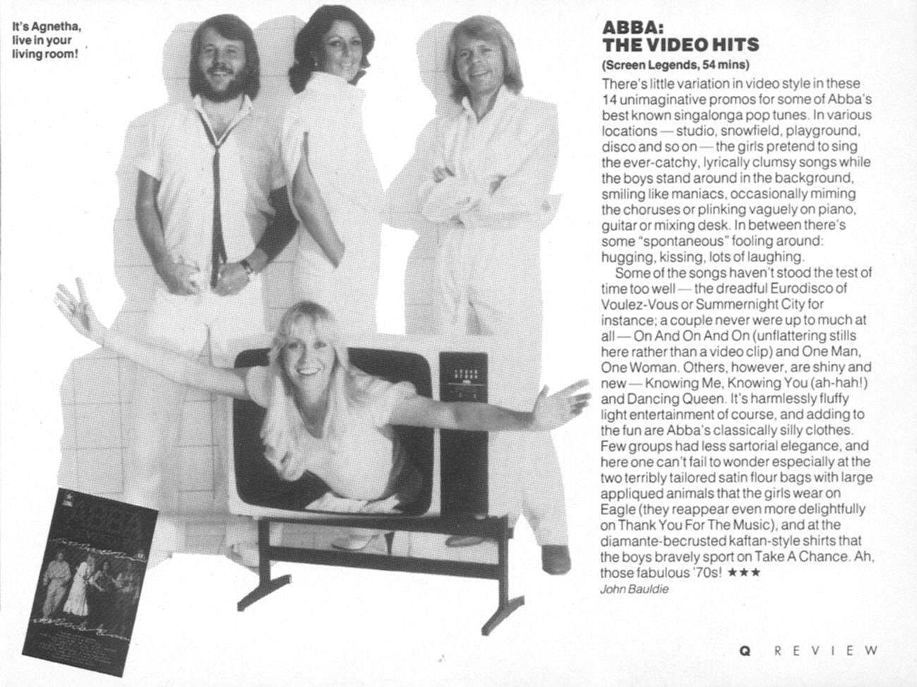 abba the video hits q mag review
